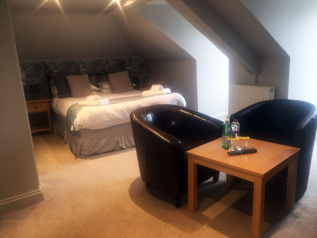 Falmouth Packet Loft Double Room | Bed & Breakfast Falmouth Cornwall