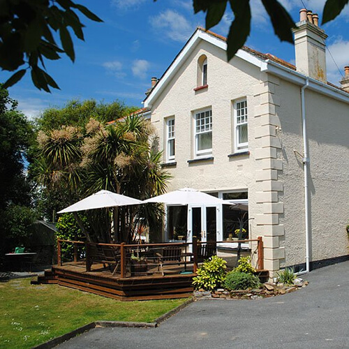 Lugo Rock Bed & Breakfast Falmouth Cornwall - Hotel Accommodation