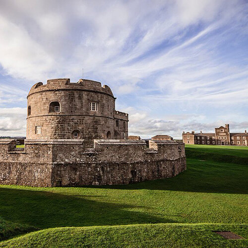 Pendennis Castle - Things to do in Falmouth Cornwall - Lugo Rock Bed & Breakfast
