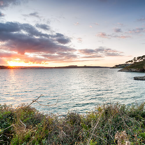 View from Saint Anthony's Head - Falmouth Cornwall Lugo Rock Bed & Breakfast